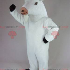 Goat goat mascot goat white goat - Redbrokoly.com