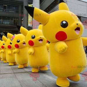 Pikachu berühmtes Maskottchen der Zeichentrickfigur -