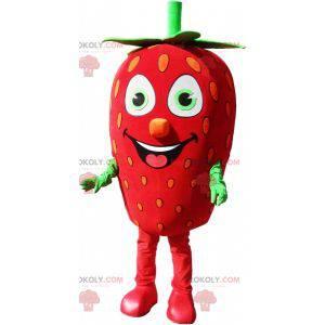 Gigantisk jordbær maskot jordbærdrakt - Redbrokoly.com
