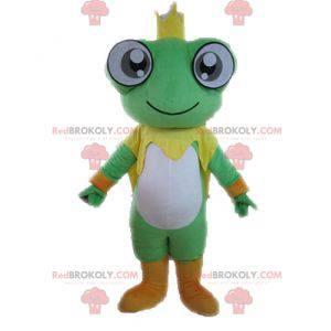 Giant frog mascot. King mascot - Redbrokoly.com