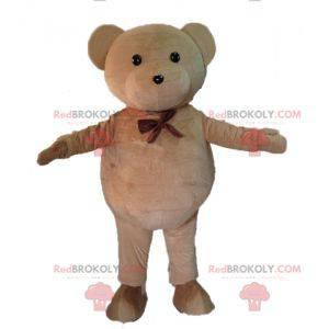 Hnědý medvídek maskot. Maskot medvídek - Redbrokoly.com