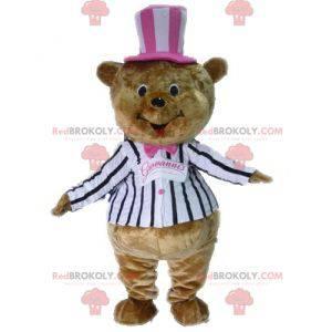 Kostým maskot hnědý medvídek - Redbrokoly.com