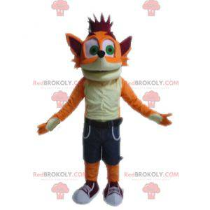 Berühmtes Crash Bandicoot Fox Videospiel Maskottchen -