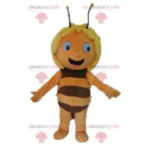 Maya the bee maskot tegneseriefigur - Redbrokoly.com