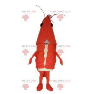 Mascote da lagosta gigante. Mascote lagostim - Redbrokoly.com