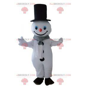 Obří sněhulák maskot. Zimní maskot - Redbrokoly.com