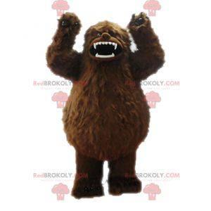 Maskotka brązowy yeti. Maskotka Grizzly - Redbrokoly.com