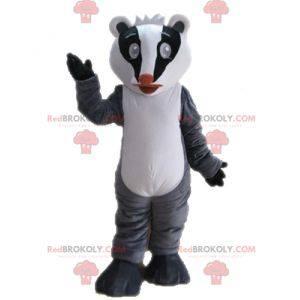Mascot tricolor polecat. Raccoon mascot - Redbrokoly.com