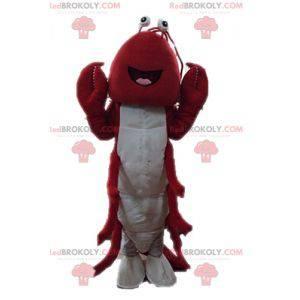 Mascota de langosta gigante. Mascota del cangrejo de río -