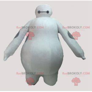 Obří bílý a šedý maskot yeti - Redbrokoly.com