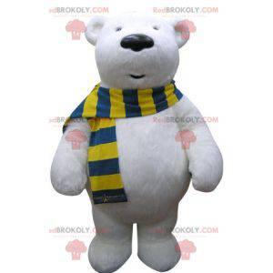 Polar bear mascot. Polar bear mascot - Redbrokoly.com