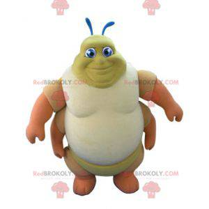Centipede caterpillar mascot. Insect mascot - Redbrokoly.com