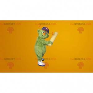 Wszystkie włochaty zielony bałwan maskotka - Redbrokoly.com