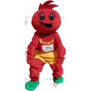 Rajčatový kostým. Rajčatový kostým - Redbrokoly.com