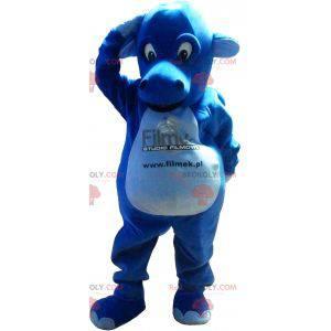 Obří a působivý maskot modrého draka - Redbrokoly.com