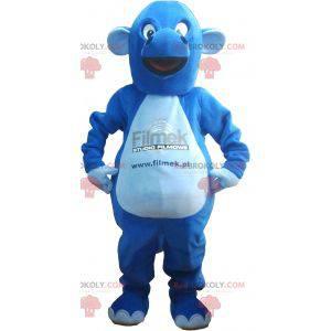 Kjempeblå drage maskot - Redbrokoly.com
