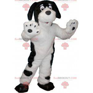 White dog mascot with black spots - Redbrokoly.com