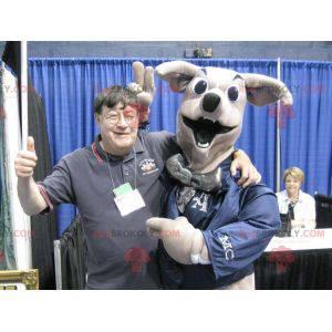 Gigantyczny beżowy pies maskotka renifer - Redbrokoly.com