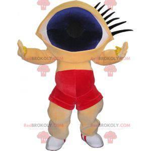 Zabawna maskotka bałwana z ogromną głową oka - Redbrokoly.com