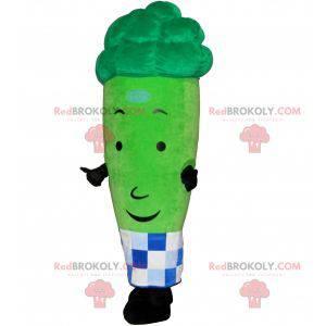 Kjempegrønn aspargesmaskot - Redbrokoly.com