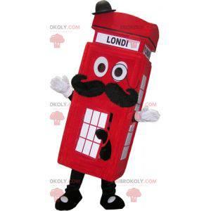 Maskotka budki telefonicznej w Londynie. Maskotka Londyn -