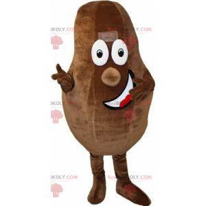 Gigantisk og smilende maskot av kakaobønner - Redbrokoly.com