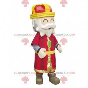 Colorful and jovial king mascot - Redbrokoly.com