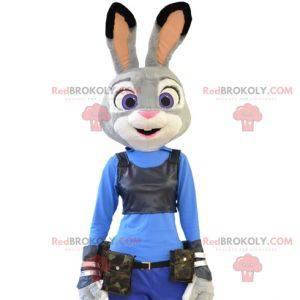 Judy mascot famous Zootopia police rabbit - Redbrokoly.com