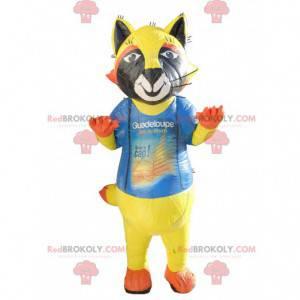 Colorful cat mascot - Redbrokoly.com
