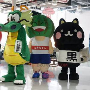 4 japońskie maskotki z gier manga - Redbrokoly.com