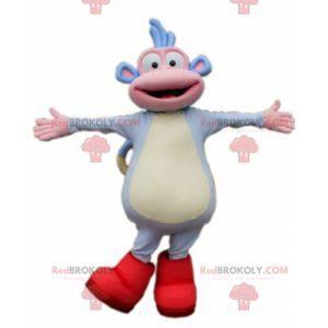 Babouche mascot faithful companion of Dora the explorer -