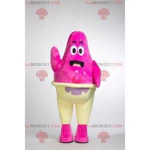 La mascota Patrick famosa estrella de mar en SpongeBob
