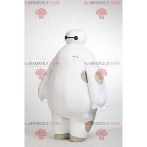 Futuristic big white man mascot - Redbrokoly.com