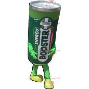Riesiges Maskottchen für elektrische Batterien. Grünes