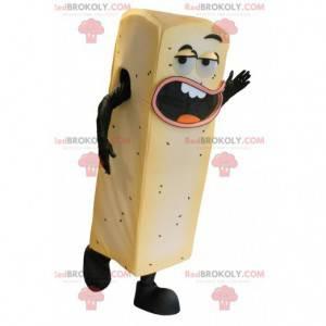 Obří žluté hranolky maskot - Redbrokoly.com
