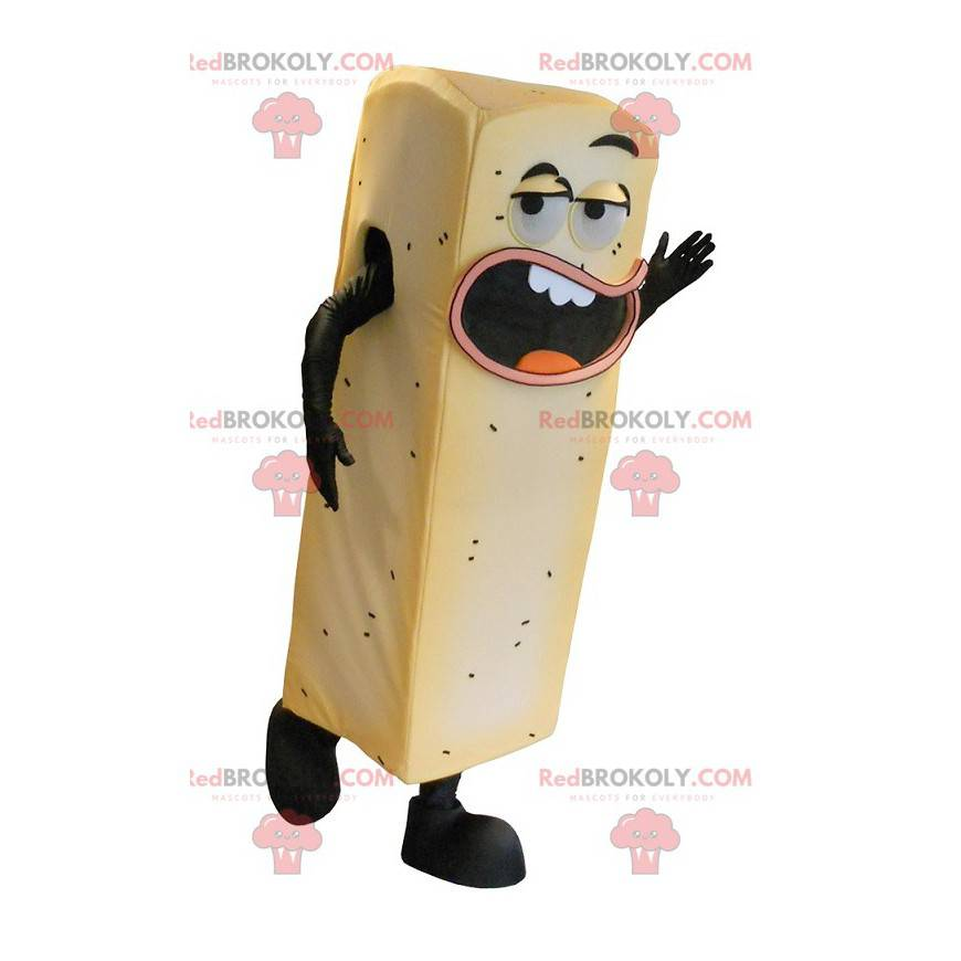 Giant yellow fries mascot - Redbrokoly.com