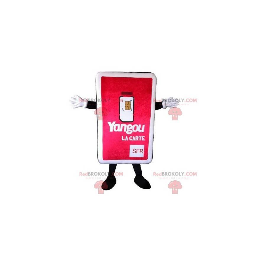 Obří maskot SIM karty - Redbrokoly.com