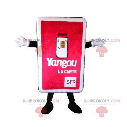 Giant SIM card mascot - Redbrokoly.com