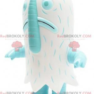 Yeti bílé monstrum duch maskot - Redbrokoly.com