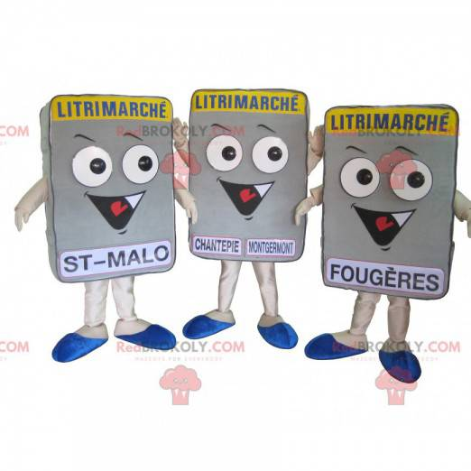 Sada 3 maskotů obří matrace - Redbrokoly.com