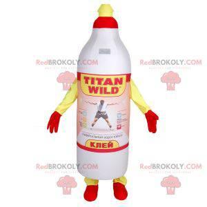 Maskot lepicí láhve značky Titan - Redbrokoly.com