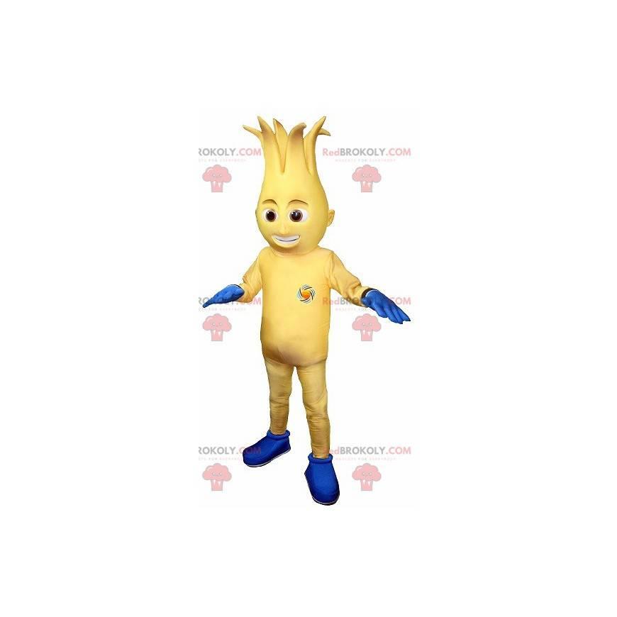 Maskotka bałwana żółty i niebieski - Redbrokoly.com