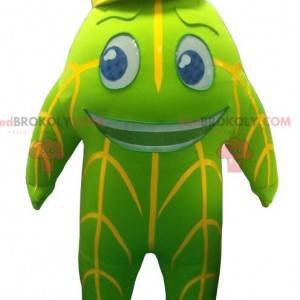 Socoda maskot grønn og gul maskot - Redbrokoly.com