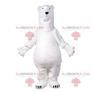 Very realistic polar bear mascot. Polar bear mascot -