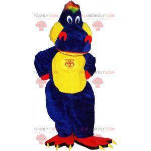 Tricolor dinosaur mascot. Dragon mascot - Redbrokoly.com