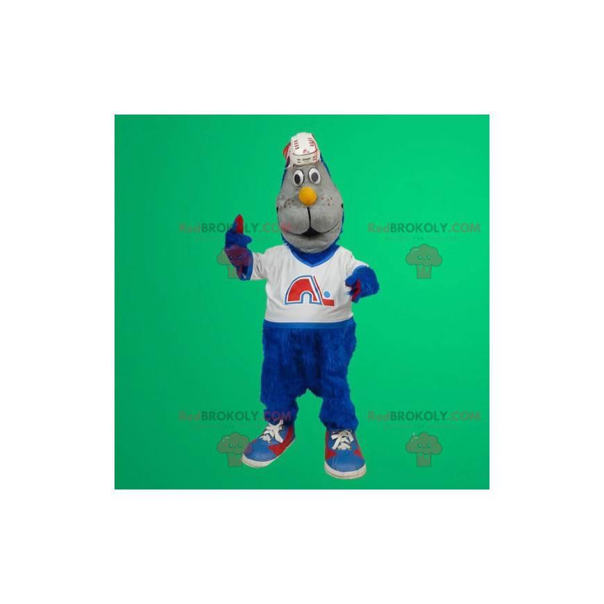 Maskotka niebieski kot - Redbrokoly.com
