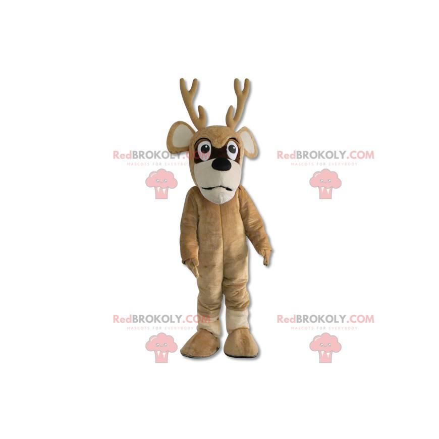 Christmas reindeer deer mascot - Redbrokoly.com