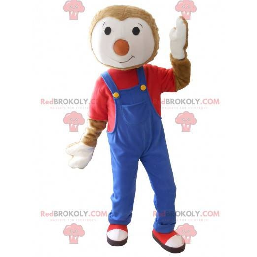 Pretty mascot of T'choupi - Redbrokoly.com