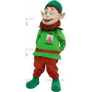 Leprechaun mascot with pointy ears - Redbrokoly.com