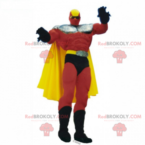 Mascote super heroi - Redbrokoly.com